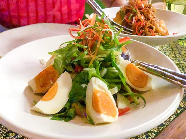 塩漬け卵のサラダ(ヤムカイケム)