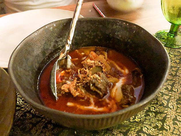 牛肉のマッサマンカレー
