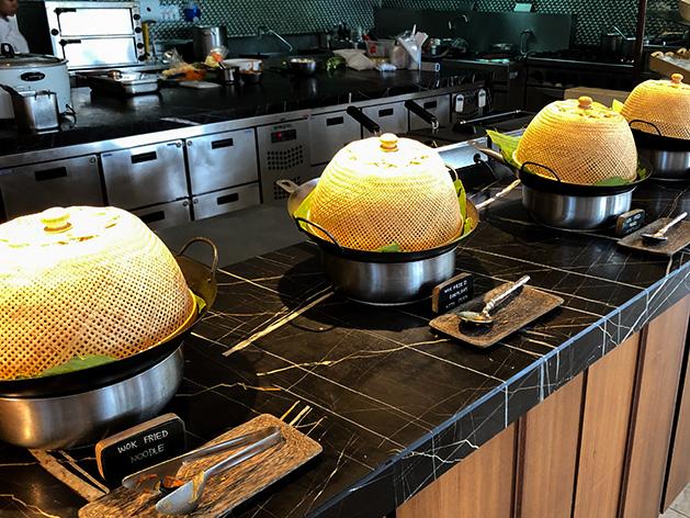 タイ料理のコーナー