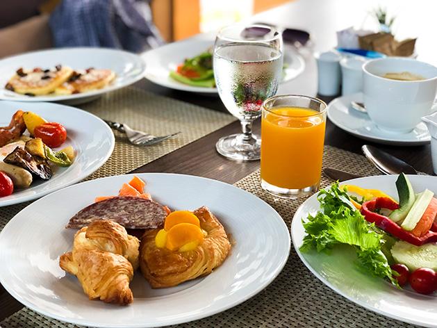 ザ・リッツ・カールトン・コ・サムイの朝食