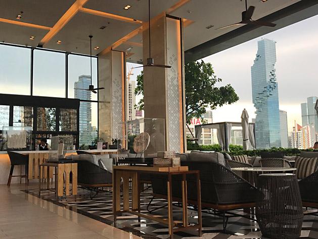 バンコク・マリオット・ホテル・ザ・スリウォンから見たマハナコーン