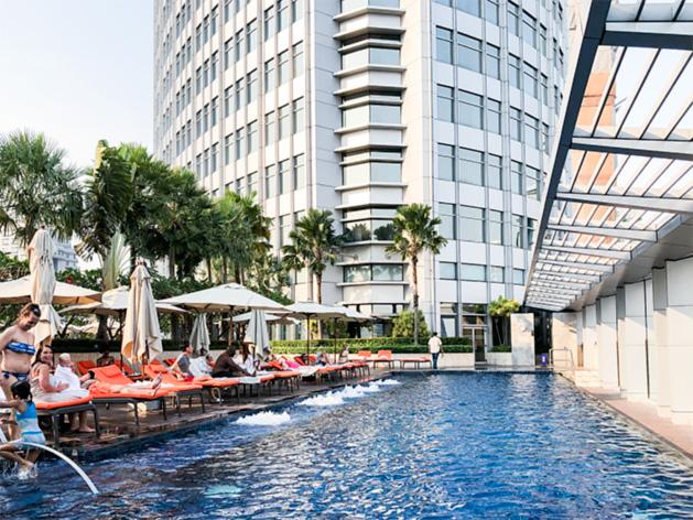 バンコク・マリオット・ホテル・スクンビットのプール